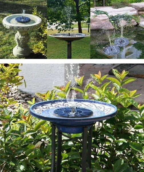 Olka - The Wireless Sollar Powered Fountain - Lala Lamps Store