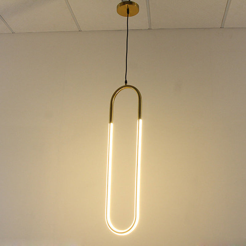 Obero - Long Hanging U Light - Lala Lamps Store