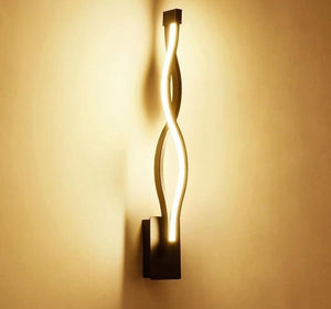 Twisted LED Wall Lamp - Lala Lamps Store