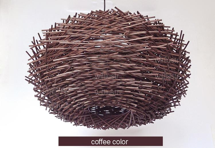 Bird Nest Pendant Light - Lala Lamps Store