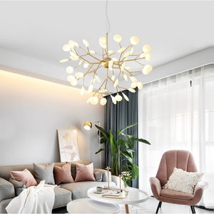 Luyi - Modern LED Firefly Chandelier - Lala Lamps Store