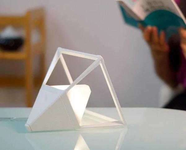 Pyramid Touch Activated Lamp - Lala Lamps Store