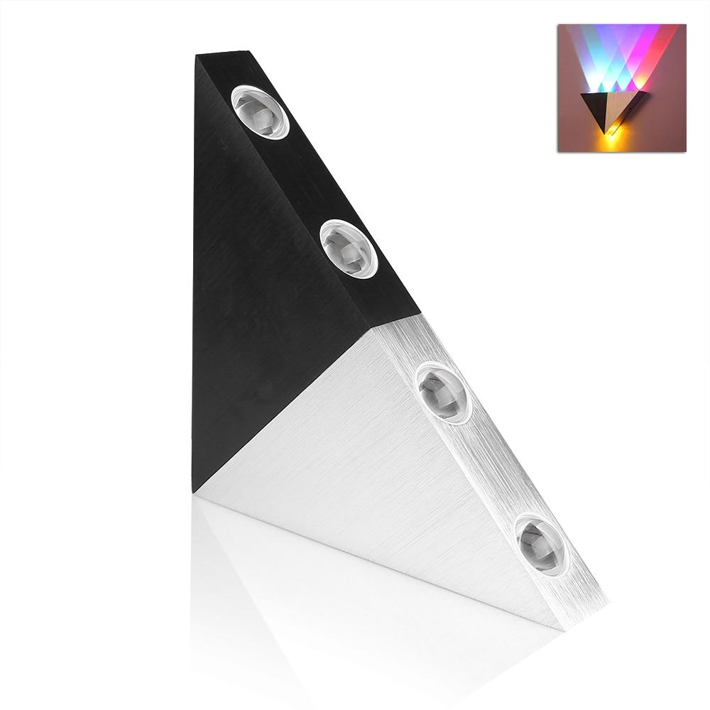 Rainbow - Modern LED Triangle Wall Lamp - Lala Lamps Store