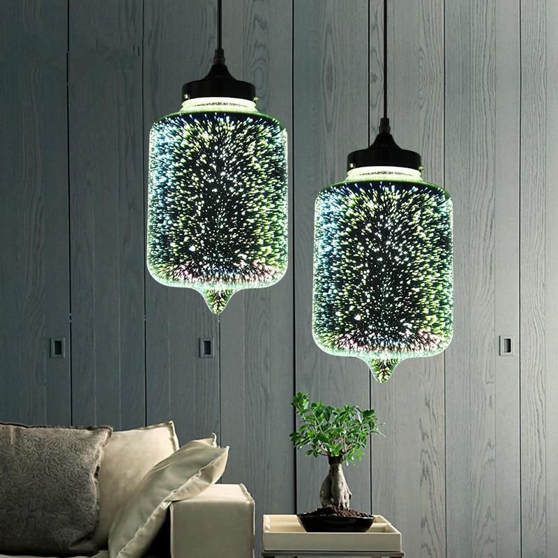Rona - Hanging Glass Pendant Lamp - Lala Lamps Store