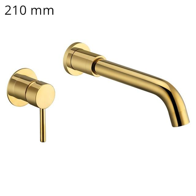 Set Modern Brass Wall Mounted Faucet - Lala Lamps Store