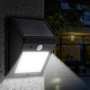 Solar Powered Motion Sensor Outdoor Light - Lala Lamps Store