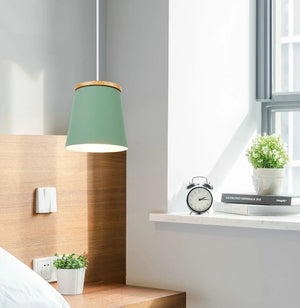 Wooden Nordic Drop Down Lamp - Lala Lamps Store