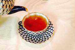 Cobalt Net Tea set at Culinary Teas