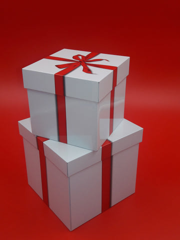 """Gift Box"" Canister / Tin gift Set"