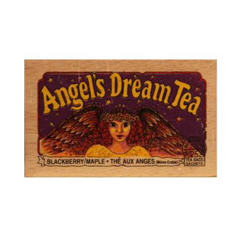 Angels Dream 25 tea bags in wood chest