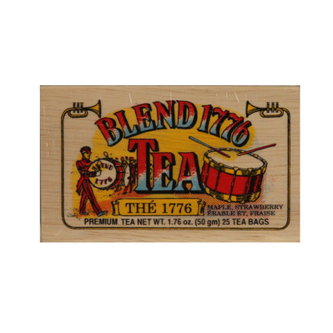 Blend 1776 25 tea bags in wood chest