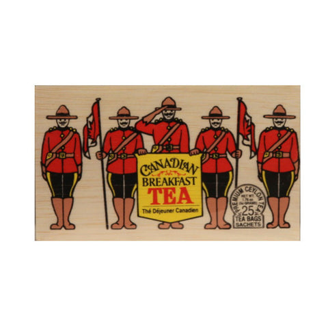 Canadian Breakfast 25 tea bags in wood chest