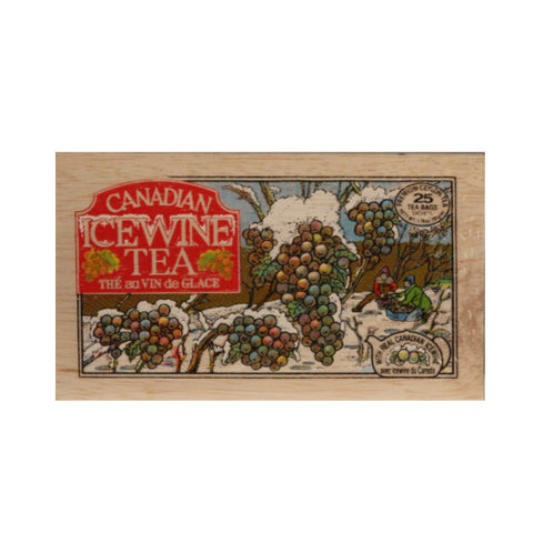 Canadian Ice Wine 25 bags in wood chest