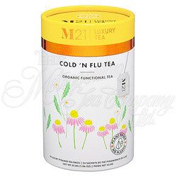 Cold N Flu Decorative Tea Bag Canister