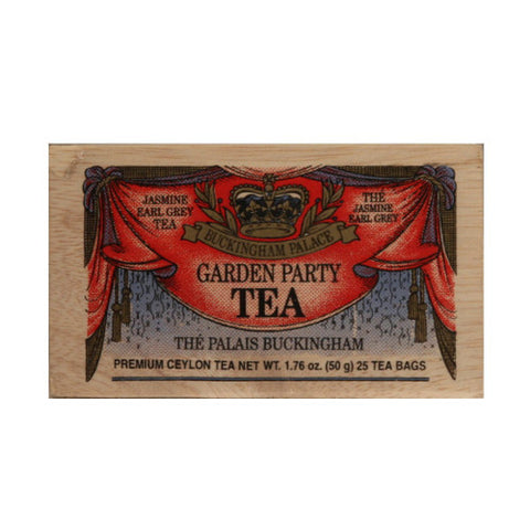 Buckingham Palace 25 tea bags in wood chest
