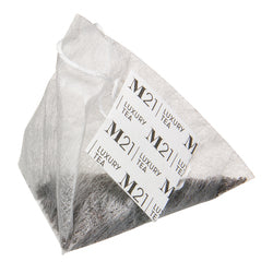 Relax Decorative Pyramid Tea Bag Canister