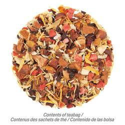 Angel's Falls Mist Herbal Tea (25 Loose-Leaf Pyramid Teabags Carton)