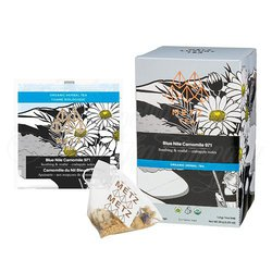 Organic Blue Nile Chamomile Herbal Tea (25 Loose-Leaf Pyramid Teabags Carton)