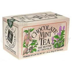 Chocolate Mint Tea Bag Softwood Chest