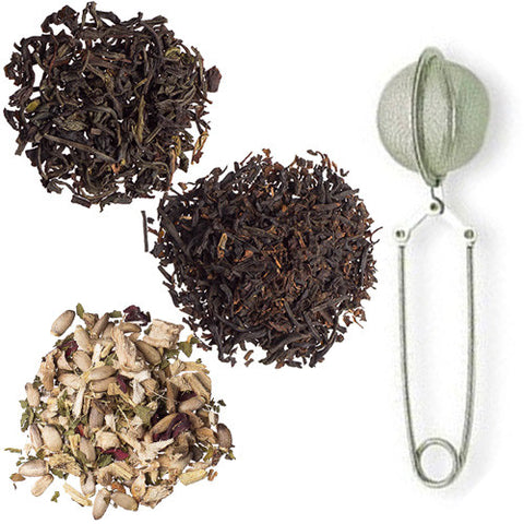 Clarity Trio from Culinary Teas with Mesh Pincer Spoon