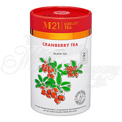Cranberry Tea Decorative Tea Bag Canister