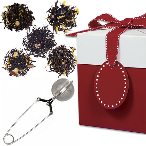Dessert Collection with Mesh Pincer Spoon in a Gift Box
