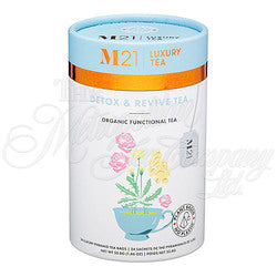 Detox and Revive Decorative Tea Bag Canister