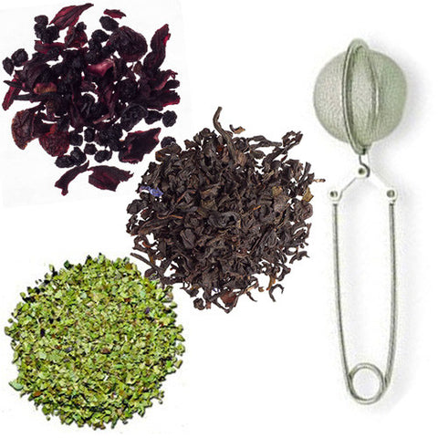Focus Trio from Culinary Teas with Mesh Pincer Spoon
