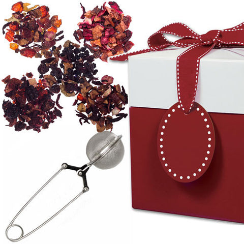 Fruit Fantasy with Mesh Pincer Spoon in a Gift Box