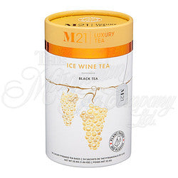 Ice Wine Decorative Pyramid Tea Bag Canister