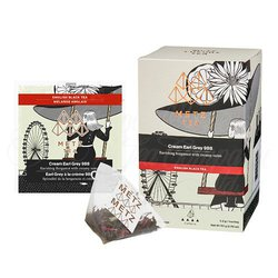 Cream Earl Grey (25 Loose-Leaf Pyramid Teabags Carton)