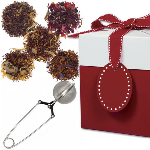 Rooibos Potpourri with Mesh Pincer Spoon in a Gift Box