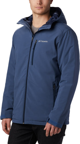 COLUMBIA - Gate Racer Soft-Shell Jacket, Blue (Size L)