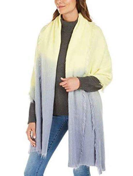 DKNY - Large Woven Ombre Scarf Wrap (Multiple Colors)