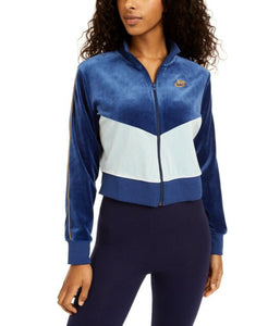 NIKE - Womens Velour Colorblocked Full-zip Jacket Only (Two Colors)