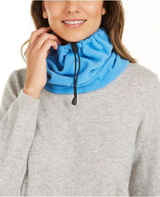 Load image into Gallery viewer, DKNY Drawstring Polar Fleece Neckwarmer / Face Covering - Unisex