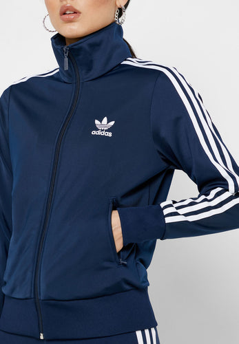 ADIDAS Originals - Women's Adicolor Firebird Track Jacket, Navy (S)