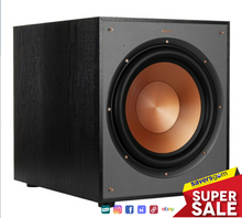"Load image into Gallery viewer, Klipsch - Reference Series 12"" 400W Powered Subwoofer - Black"