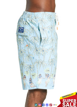 Load image into Gallery viewer, Tommy Bahama -Men's Baja Luau Groove Classic Fit Swim Trunks