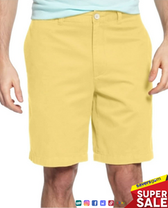 "Club Room - Men's Regular-Fit 9"" 4-Way Stretch Shorts"
