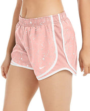 Load image into Gallery viewer, NIKE - Women's Tempo Printed Running Shorts Pink Quartz, (M)