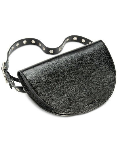 CALVIN KLEIN - Women's Belt Bag Fanny Pack (Black Gloss)