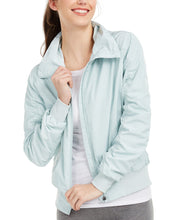 Load image into Gallery viewer, IDEOLOGY - Ruched-Sleeve Hooded Jacket, White (M,L)
