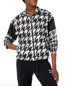 PUMA - Women's Trend All Over Print Woven Jacket (Size M)