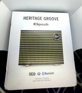 KLIPSCH HERITAGE GROOVE - HIGH-END BLUETOOTH SPEAKER