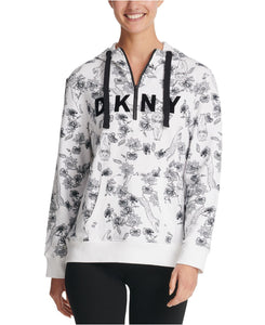 DKNY - Sport Sumatra Half-Zip Hoodie, Two Colors Available (S,M)