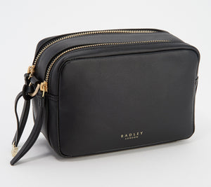 Radley London - Alba Place Small Zip Around Cross Body Bag (Black)