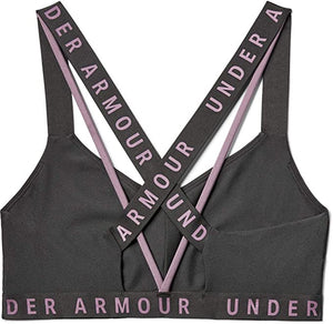 UNDER ARMOUR - Women's Wordmark Sports Bra, Two Colors (XS,M)