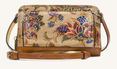 PATRICIA NASH - Andria Leather Crossbody Organizer (French Tapestry)