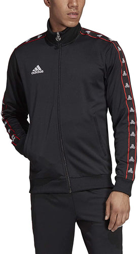ADIDAS - Men's Tango Club Jacket, Black (Size XL)
